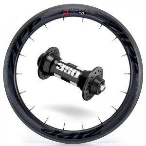 Zipp Whl Custom 404/DT350 CCL Frt Blk - Click for more info