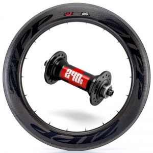 Zipp Whl Custom 808/DT240 CCL Frt Blk - Click for more info