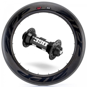Zipp Whl Custom 808/DT350 CCL Frt Blk - Click for more info